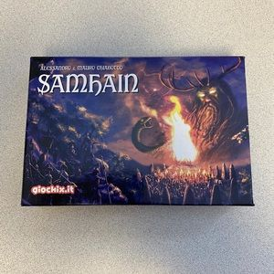 Samhain Boardgame Open Box Never Played